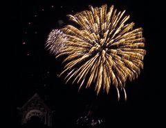 Feuerwerk in Badenweiler 1