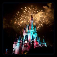 Feuerwerk in Disney World