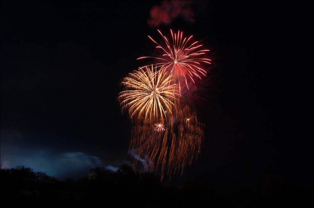 Feuerwerk in Itzehoe 2008