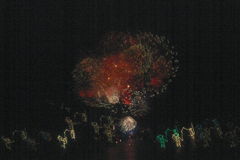 Feuerwerk in Luzern