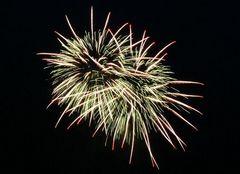 Feuerwerk in Solingen, Ortschaft Rüden, am 8. Juni 2007 (1)