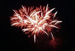 Feuerwerk in Solingen, Ortschaft Rüden, am 8. Juni 2007 (2)