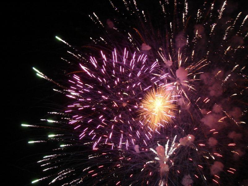 Feuerwerk in Stadtbergen am 20.05.07
