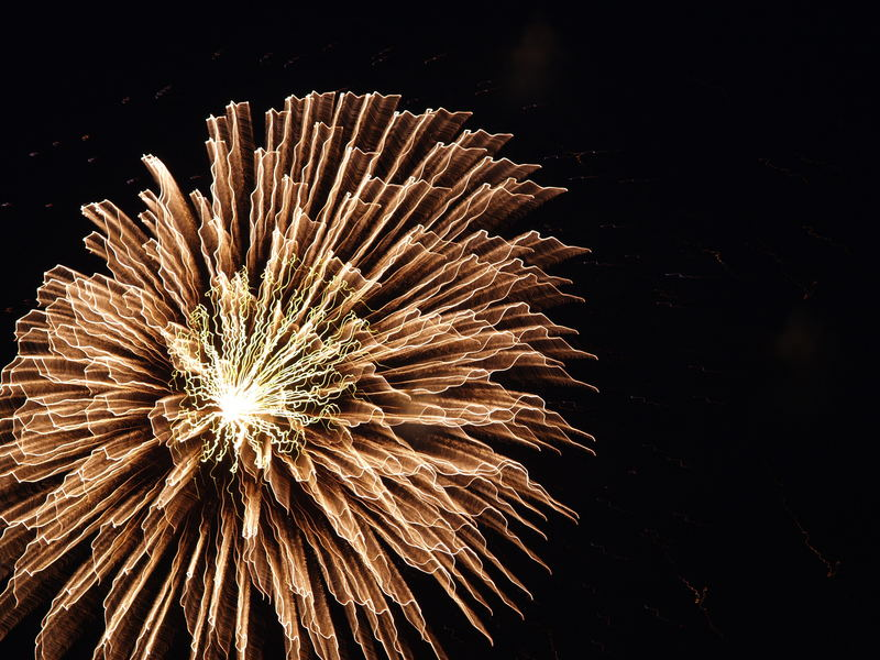 ...Feuerwerk in Unterschleißheim (Volksfest)