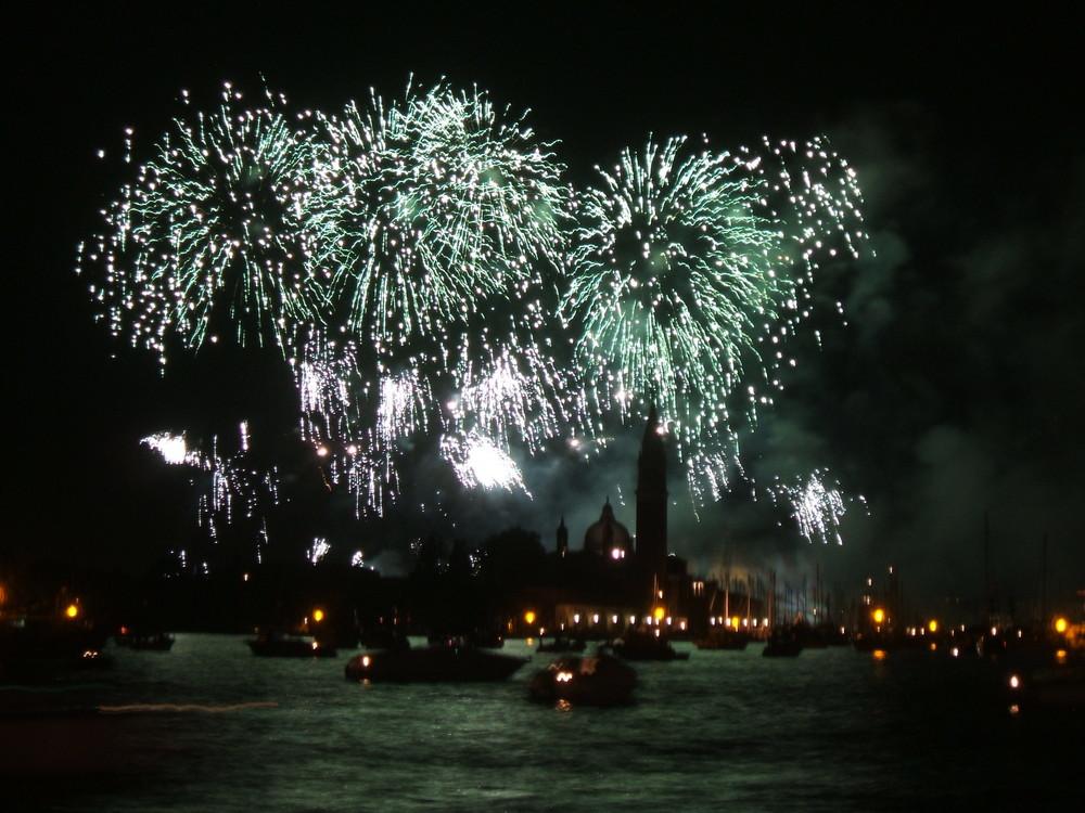 Feuerwerk in Venedig II