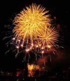 Feuerwerk mal etwas länger belichtet