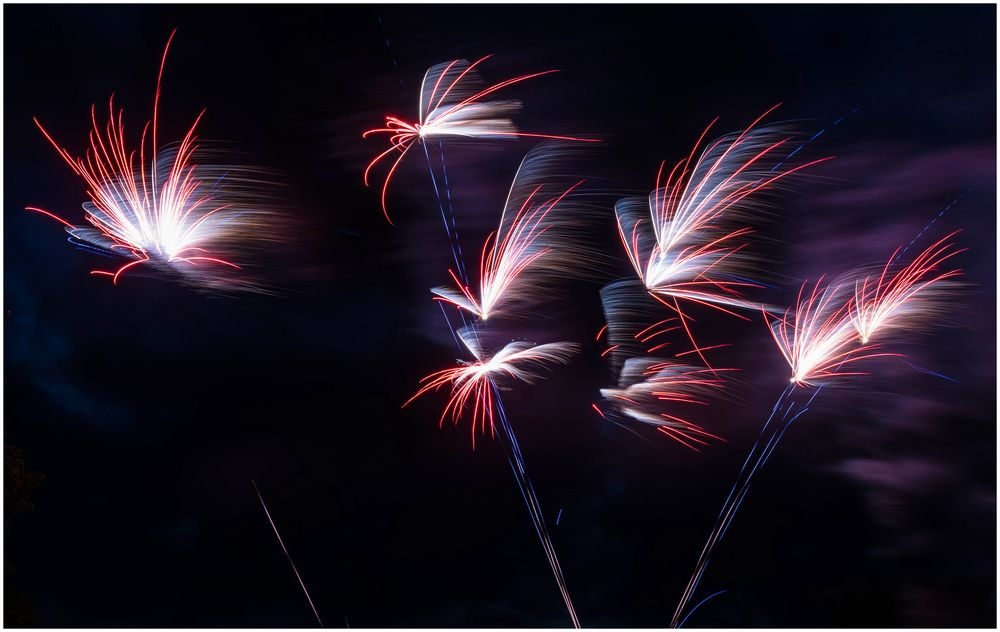 Feuerwerk Nordmarksportfeld Kiel
