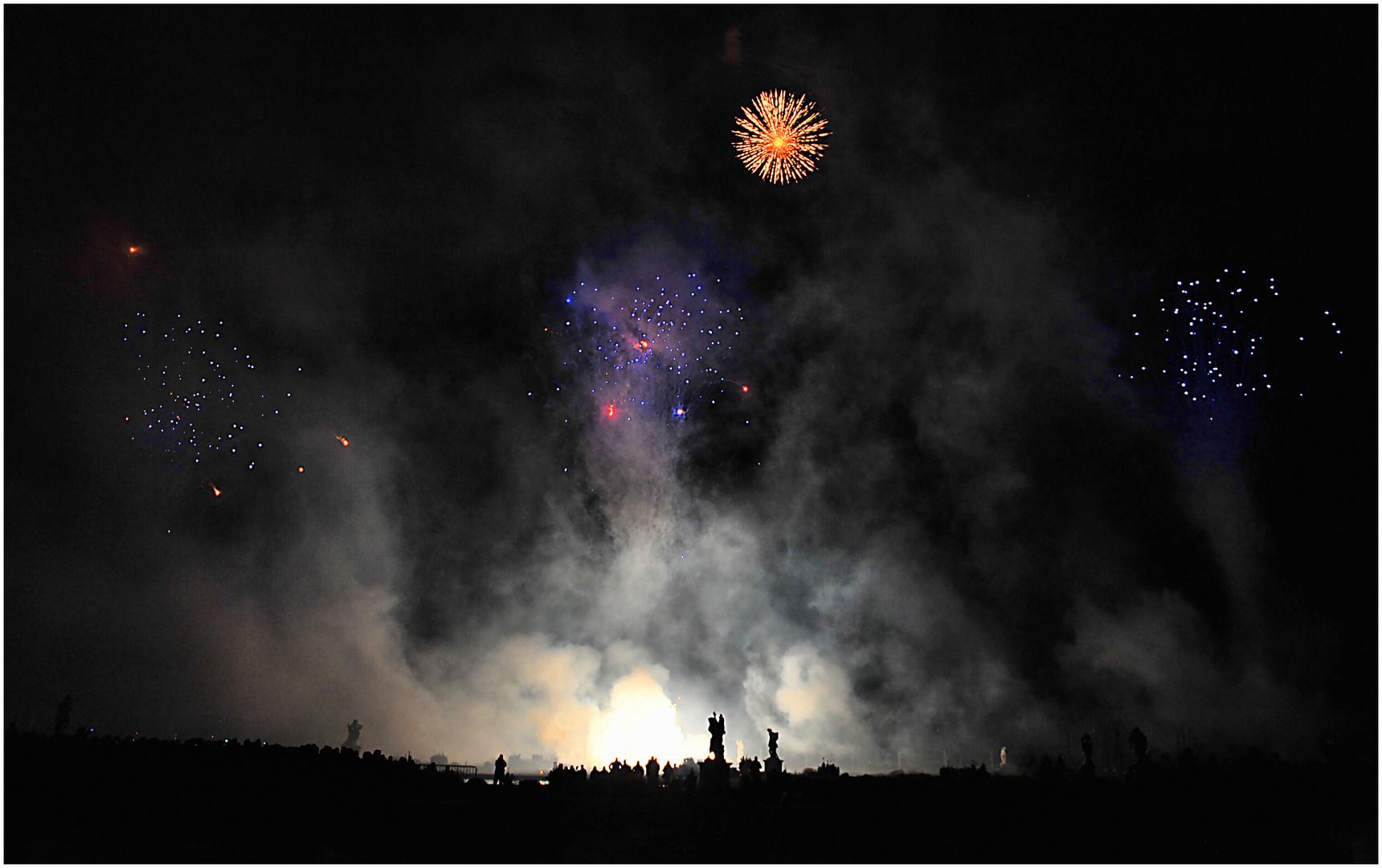 Feuerwerk - Pusteblume