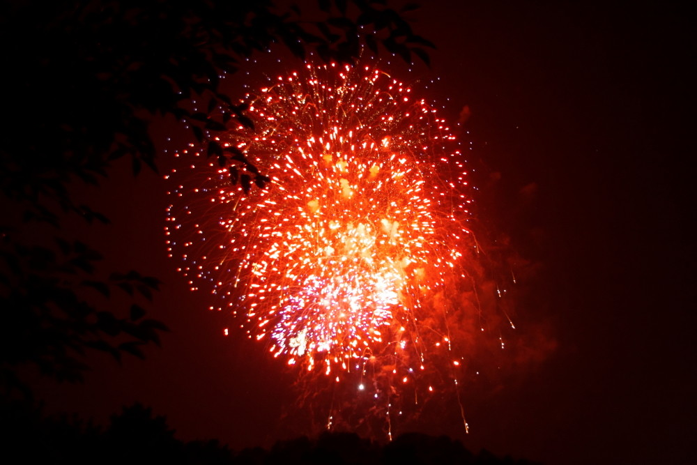 Feuerwerk Sommernachtstraum
