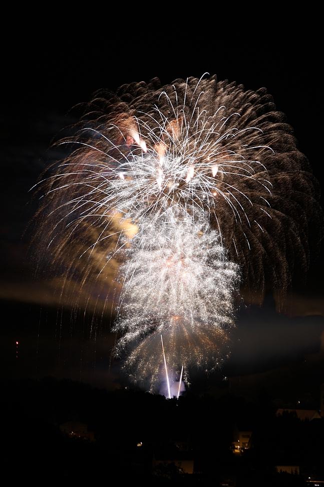 Feuerwerk über Bretten 5