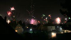 Feuerwerk über Gifhorn