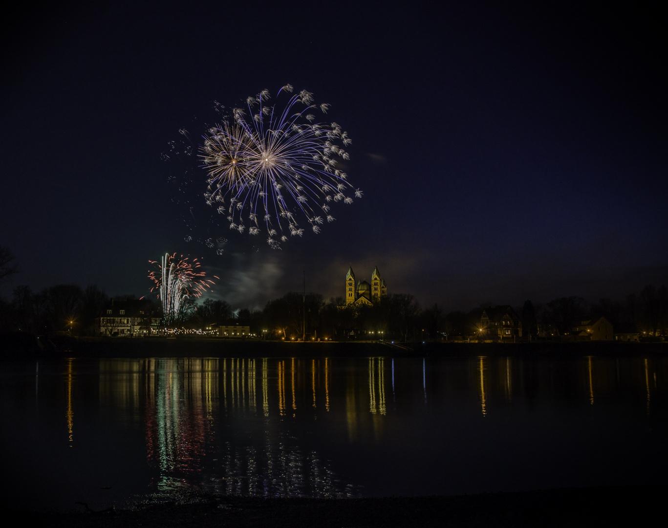Feuerwerk über Speyer