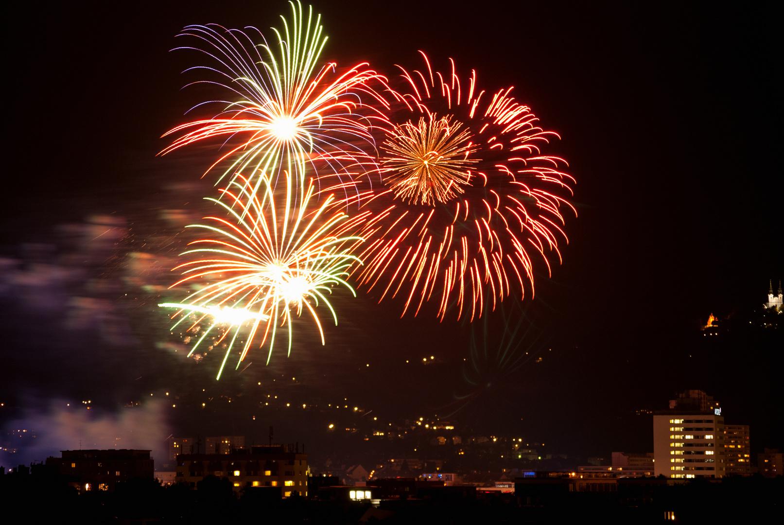 Feuerwerk Urfahraner Markt 2013