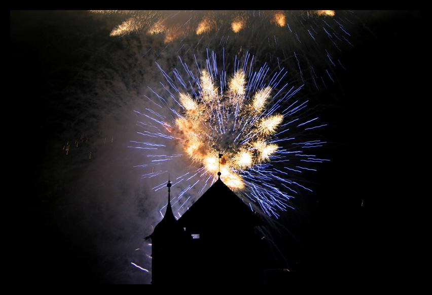 Feuerwerk Wasserfest Aarburg
