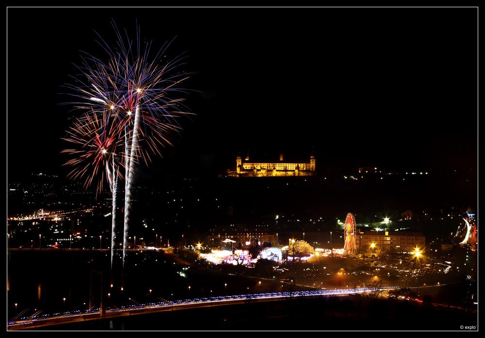 Feuerwerk Würzburg