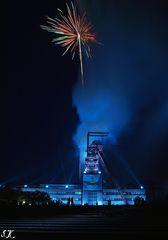 Feuerwerk @ Zeche Nordstern