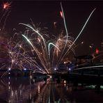 Feuerwerk zerzaust ...