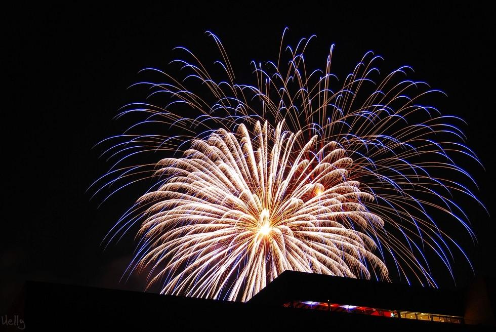 Feuerwerk Zollverein