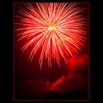Feuerwerk zu Ostern 2012