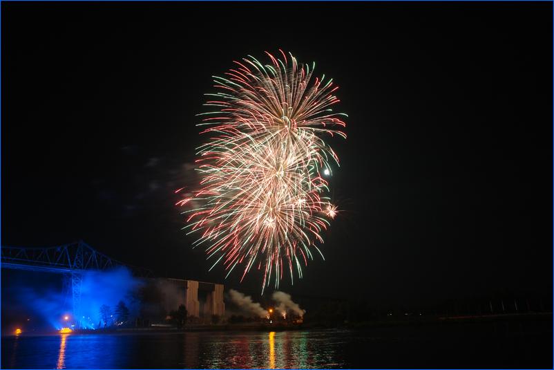 Feuerwerk zum E.ON Hanse-Cup 2008 in Rendsburg #2