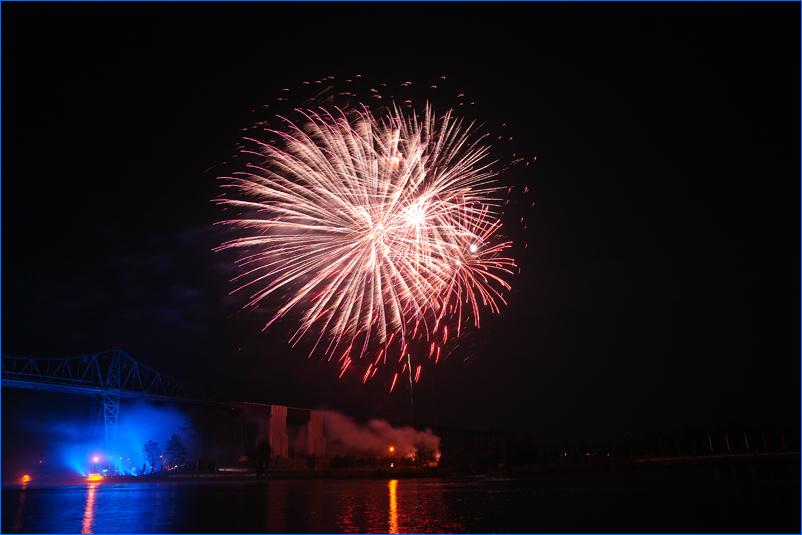 Feuerwerk zum E.ON Hanse-Cup 2008 in Rendsburg #3