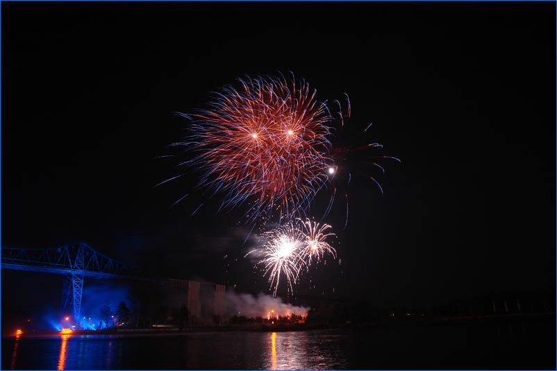Feuerwerk zum E.ON Hanse-Cup 2008 in Rendsburg #4