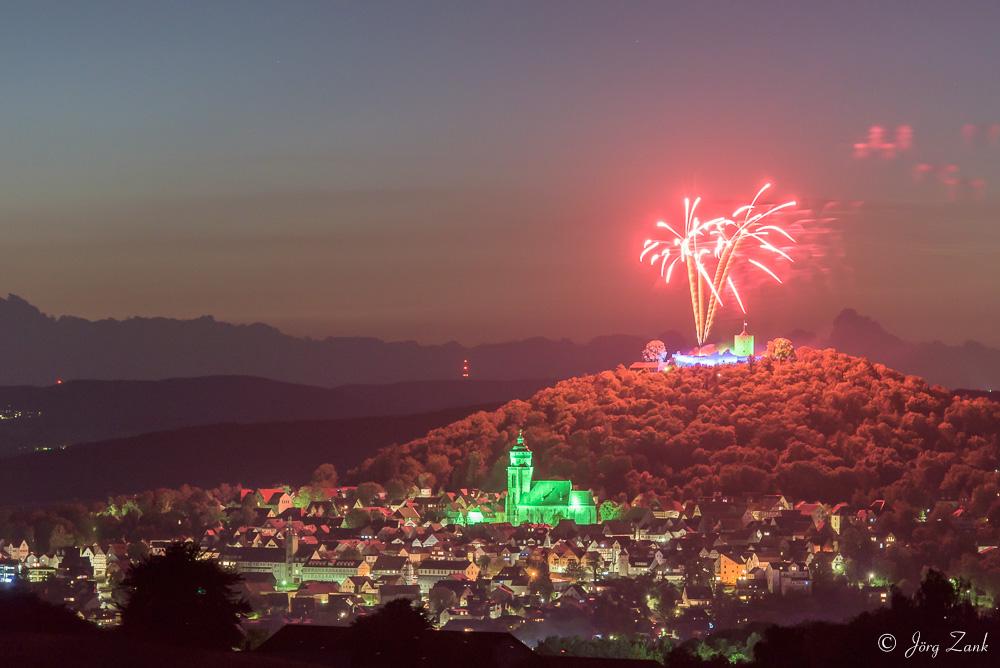 Feuerwerk zum Homberger Lichterfest I
