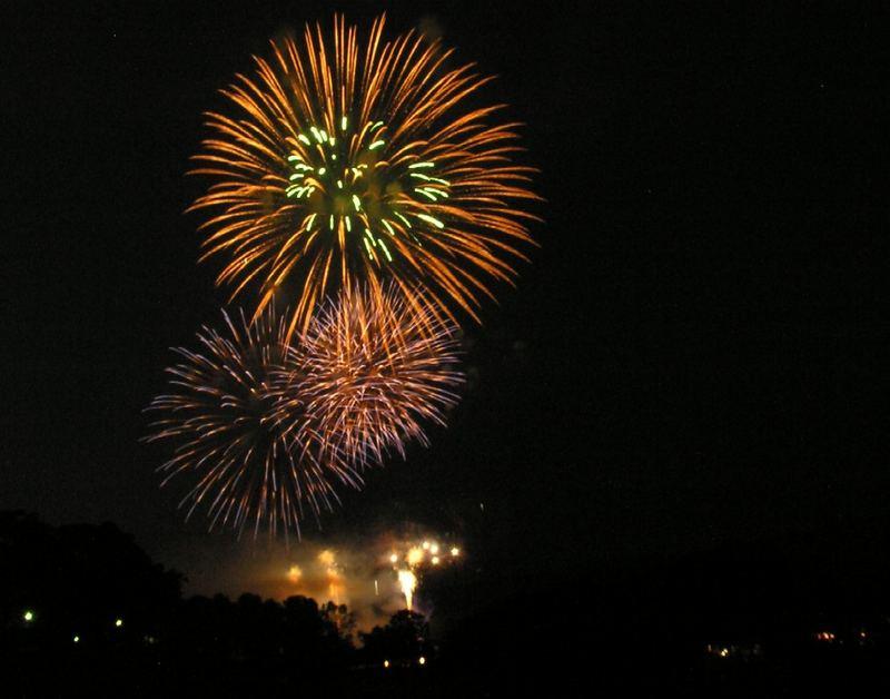 Feuerwerk zur 11. Bierbörse
