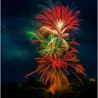Feuerwerks-Kaskade