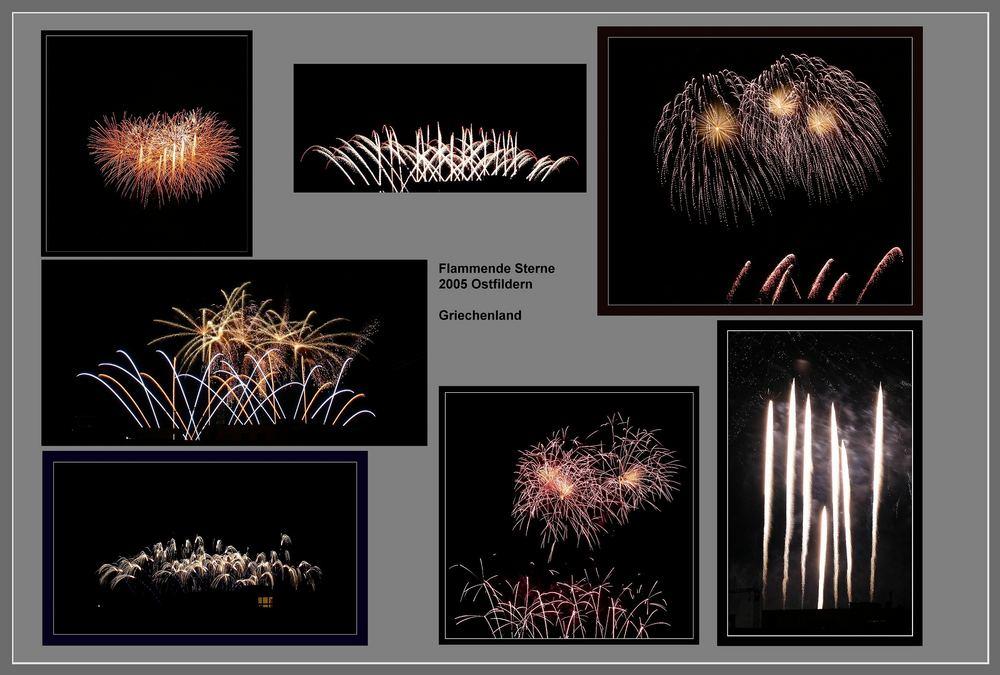 Feuerwerksvielfalt aus Griechenland