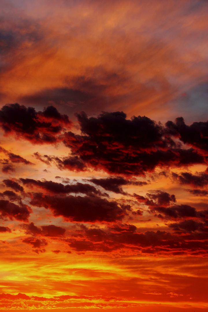 Feuerwolken