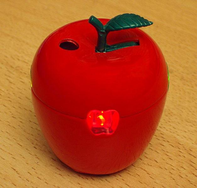 Feuriger Apfel