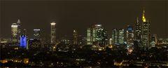 FfM Skylinepanorama by night