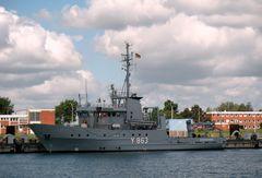 "FGS Y 863 Mehrzweckboot ""Stollergrund"" BWB/WTD 71..."