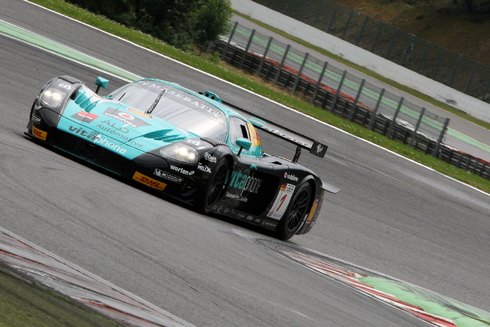 FIA GT Test 2008 in SPA Francorchamps.