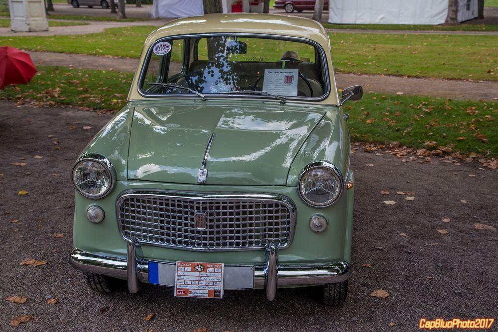 Fiat 1100/103 D  Millecento    I 1958  bei Classic Cars Schwetzingen 2017