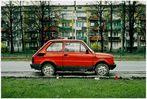 Fiat 123 in Krakau, Poland