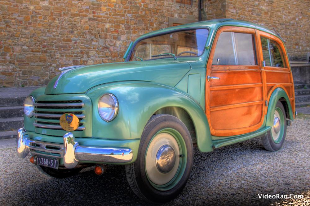 Fiat 500 C Giardiniera 1943 HDR