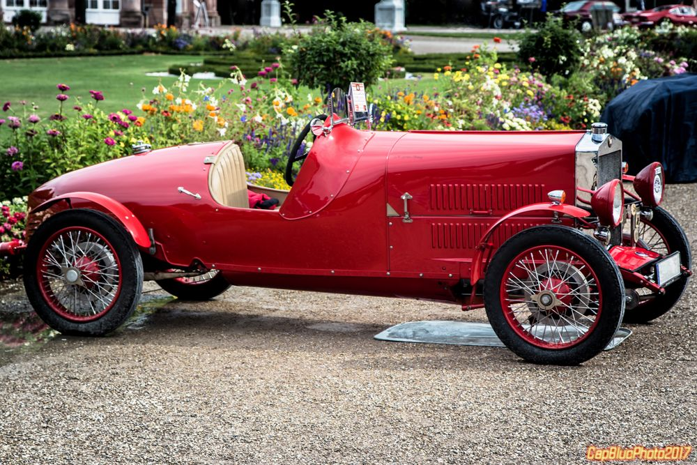 Fiat 520 SM Spinto Monza I 1925 bei der Classic Cars 2017 Schwetzingen