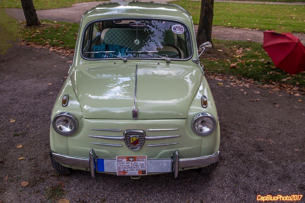 Fiat 600   I 1959  bei Classic Cars Schwetzingen 2017
