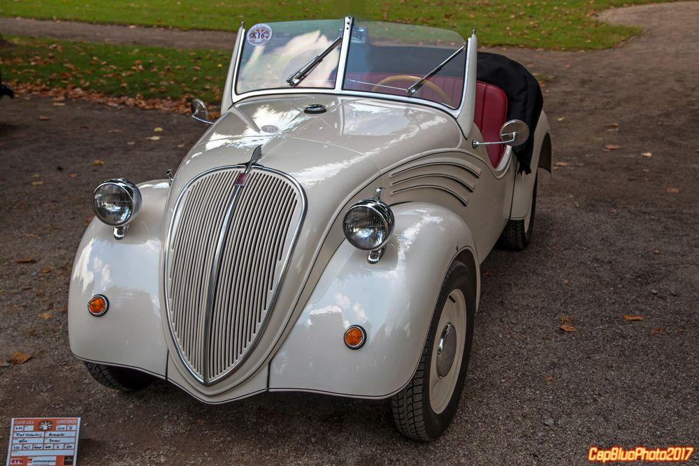 "Fiat NSU 500 A  ""Topolino"" Spider Weinsberg  I 1939 bei den Classic Cars Schwetzingen 2017"