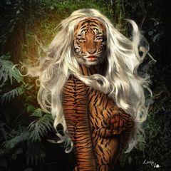 Fiber Tiger Lady