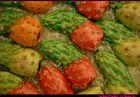Fichid'india di pasta di mandorle.