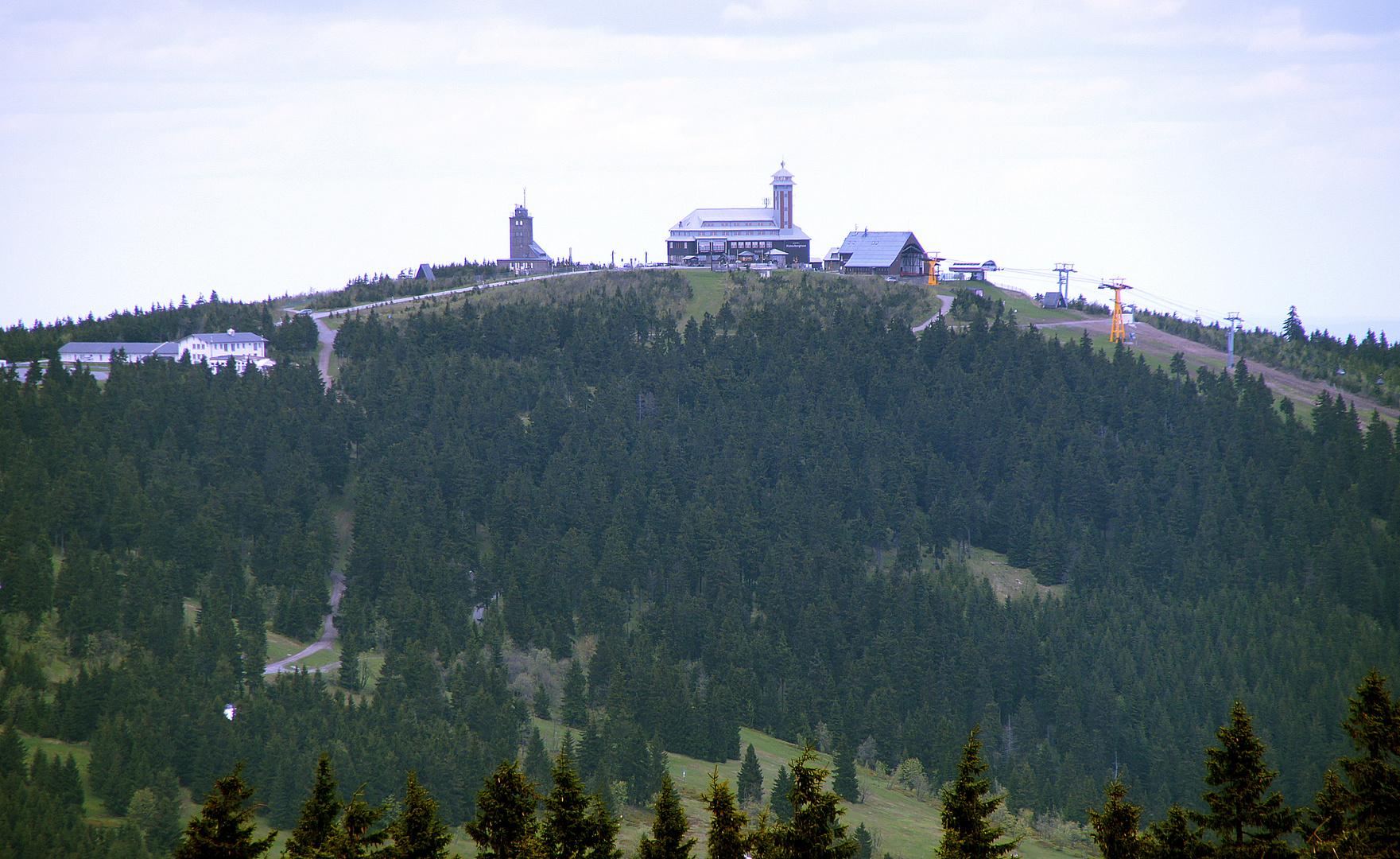 Fichtelberg, vom Keilberg aus gesehen