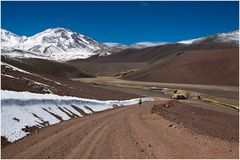 Fidibustours Camp- first stop in Chile 4000m