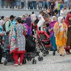 Fiesta de la India en Lavapiés.
