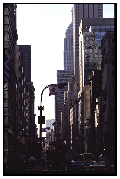 Fifth Avenue am Sonntagmittag