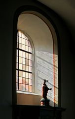 Figur am Fenster