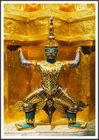 Figur im Königspalast
