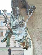 Figur vom Drachenbrunnen, Halle (Saale)